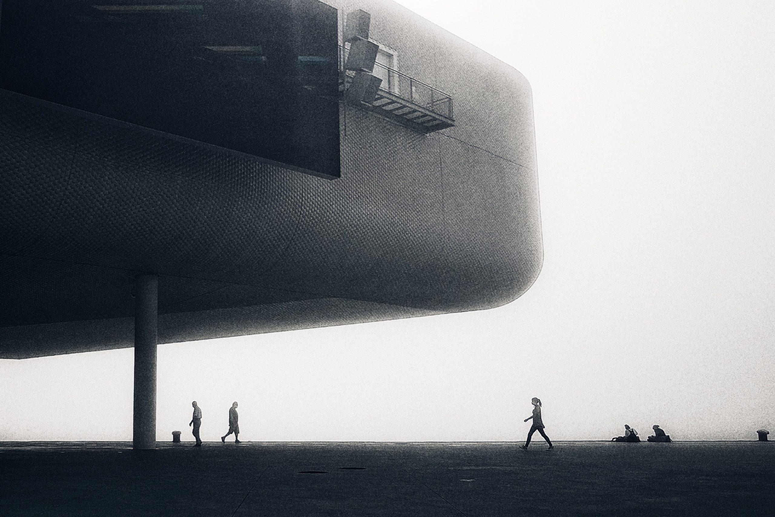 Centro Botín y nieblas
